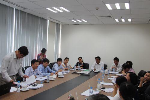 Tại cuộc họp Lãnh đạo Sở Y tế Bình Dương khẳng định ngay ngày 28-1 sẽ tim vắc-xin miễn phí rubella/sởi cho công nhân công ty