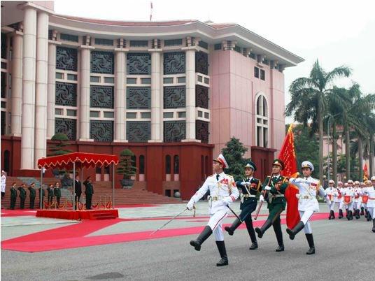 Các bộ Quốc phòng, Công an và Ngoại giao được quy định 6 Thứ trưởng- Ảnh trụ sở Bộ Quốc phòng