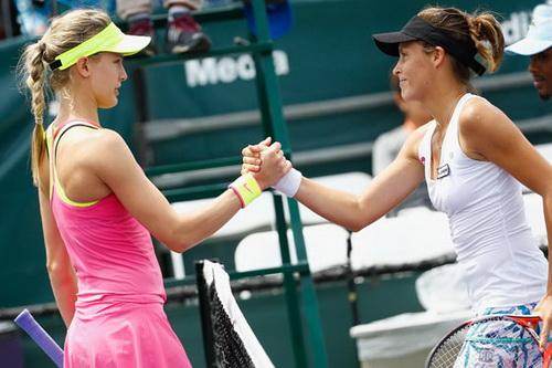 Bouchard thua trận trước Tatjana Maria