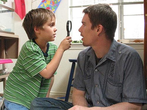 Cảnh trong phim Boyhood