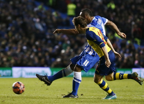 OGrady ghi bàn thứ nhì cho chủ nhà Brighton