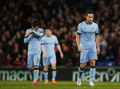 Nỗi buồn thất trận của các cầu thủ Man City