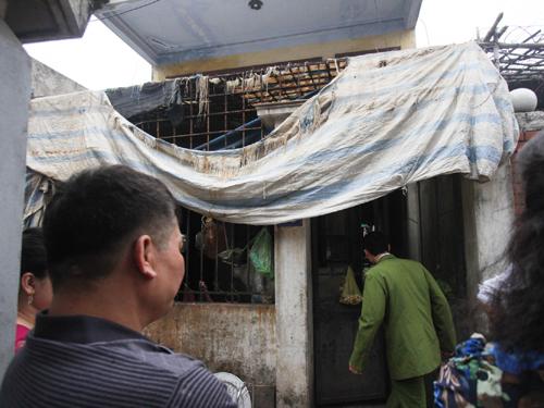 Căn nhà mà Nguyễn Thành Trung trong tình trạng ngáo đá xông vào, khóa trái cửa cố thủ gần 2 ngày