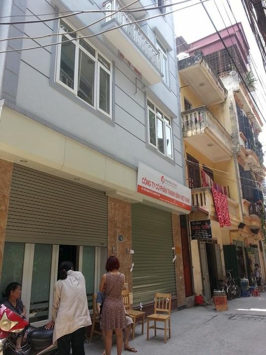 Căn nhà làm trụ sở công ty, nơi nữ giám đốc bị sát hại