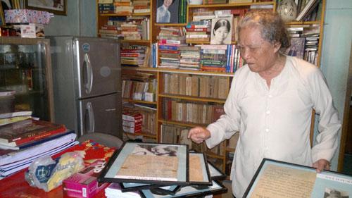 Nghỉ hưu nhưng nhà báo Trần Thanh Phương luôn bận rộn với công việc sưu tập báo chí