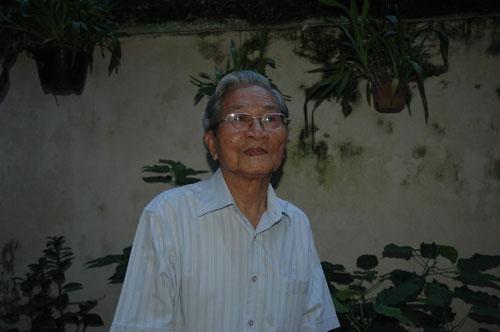 NSND, GS-TS Đình Quang. (Ảnh do gia đình cung cấp)