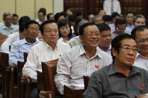 HĐND TP HCM nhiệm kỳ mới sẽ có thêm Ban Đô thị. Trong ảnh: Các đại biểu trong kỳ họp thứ 19 (kỳ họp bất thường) của HĐND TP HCM Ảnh: HOÀNG TRIỀU