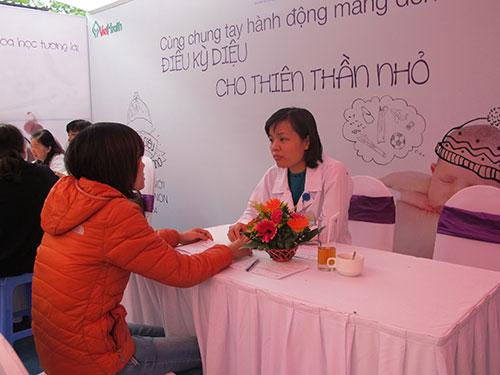 Bệnh viện Phụ sản trung ương - 1 trong 3 cơ sở đã nhận được nhiều hồ sơ đăng ký xin mang thai hộ  Ảnh: Ngọc Dung