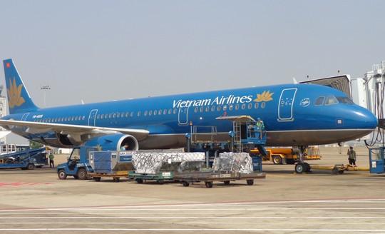 Ảnh minh họa một chuyến bay của Vietnam Airlines