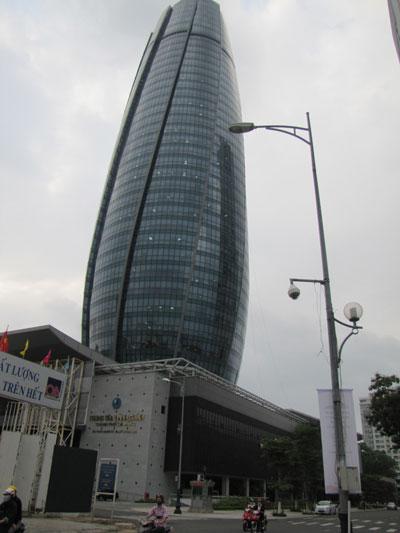 Trung tâm hành chính mới của TP Đà Nẵng Ảnh: Hoàng Dũng