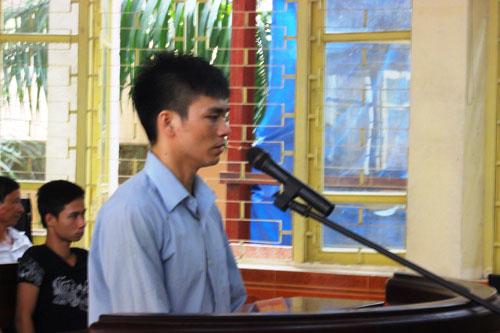 Bị cáo Lý Nguyễn Chung khẳng định chỉ một mình giết chị Nguyễn Thị Hoan