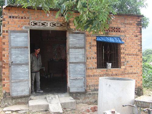 Căn nhà của vợ con Huỳnh Văn Nén vẫn quạnh hiu dù đã 27 Tết