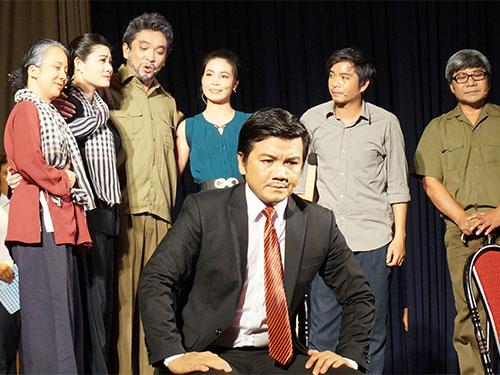 Vở Chiến binh - tác phẩm mới của Nhà hát Cải lương Trần Hữu Trang sắp công diễn