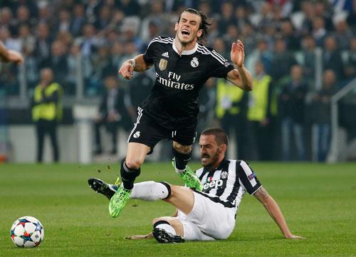 """Bale có cơ hội lấy lại uy danh sau khi bị chỉ trích vì """"vô hại"""" ở trận Real thua Juventus giữa tuần qua  Ảnh: REUTERS"""
