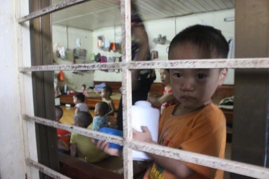 Hình ảnh các cháu bé ở chùa Bồ Đề