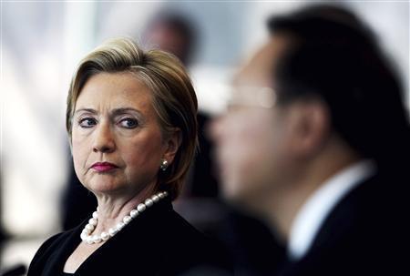 """Theo một cuộc thăm dò ý kiến năm 2014 của báo Global Times, bà Clinton bị liệt vào vị trí """"chính trị gia Mỹ bị ghét nhất ở Trung Quốc. Ảnh: Reuters"""