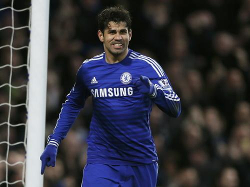 Diego Costa ghi bàn thắng thứ 15 từ đầu mùa