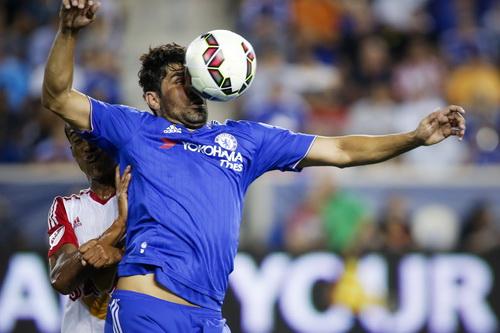 Diego Costa thi đấu nhạt nhòa