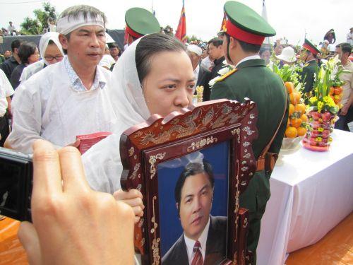 Ông mất đi để lại tiếc thương vô hạn cho gia đình và nhân dân TP Đà Nẵng. Ảnh: Bích Vân