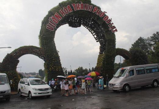 Vườn hoa TP Đà Lạt là điểm thu hút du khách tham quan