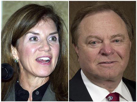 Bà Sue Ann Hamm là vợ thứ hai của ông Harold Hamm. Ảnh: Reuters