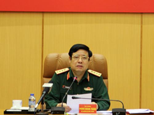 Đại tướng Phùng Quang Thanh kết luận tại hội nghị