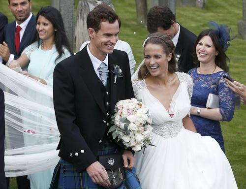 Andy Murray và người bạn đời xinh đẹp Kim Sears