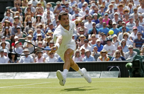 Tiểu Federer Dimitrov bị loại từ vòng 3