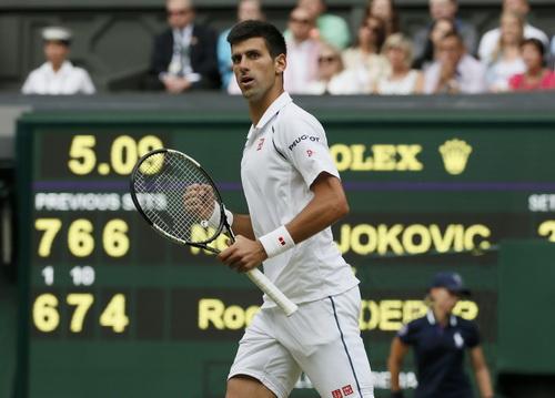 Djokovic giành ưu thế nhờ bẻ bàn cầm giao bóng của Federer