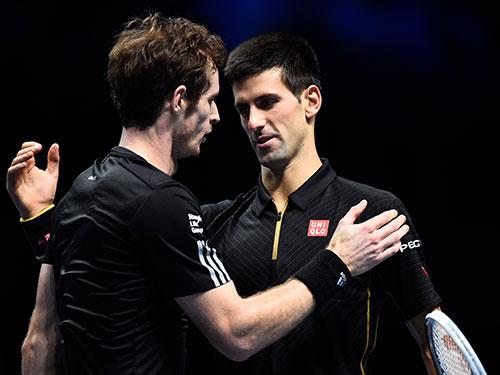Murray (trái) đang sung sức hơn nhưng Djokovic toàn thắng 4 trận chung kết Úc mở rộng trước đó  Ảnh: REUTERS