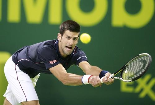 Djokovic tự tin đi tiếp tại Qatar Open