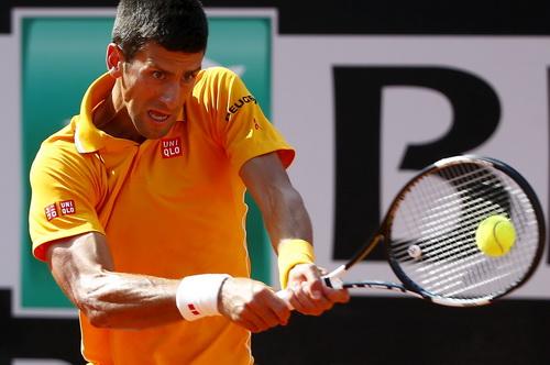 Djokovic mạnh mẽ chờ cơ hội đăng quang ở Rome Masters