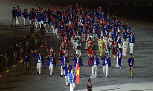 Đoàn TTVN tham dự SEA Games 28 với 570 thành viên trong đó có 392 VĐV, 133 HLV và xếp thứ 3 toàn đoàn.