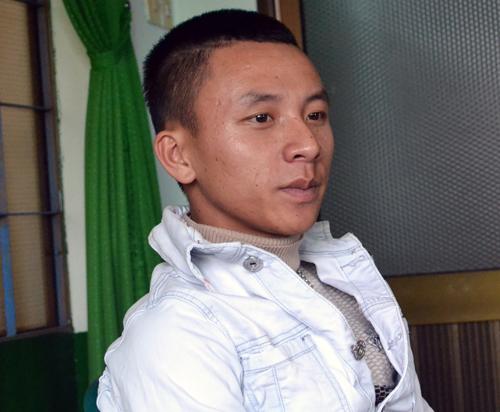 Tài xế taxi Nguyễn Xuân Trang, bà đỡ bất đắc dĩ. Ảnh: Tùy Phong/VNE