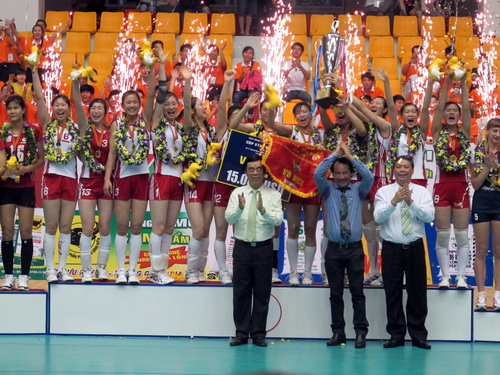 CLB Thể thao 4.25 lên ngôi vô địch