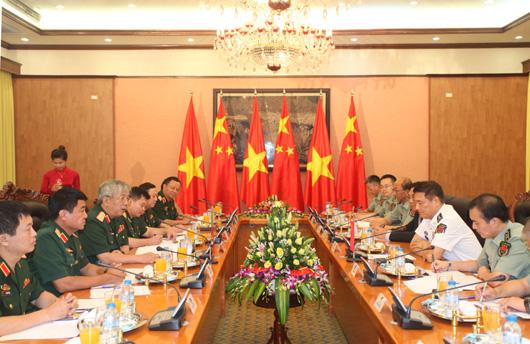 Đối thoại chiến lược quốc phòng Việt Nam-Trung Quốc lần thứ 5 tại Hà Nội - Ảnh: Cổng TTĐT Bộ Quốc phòng