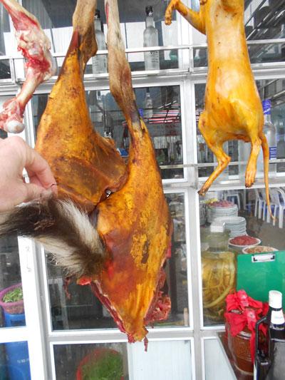 Buôn bán động vật hoang dã rầm rộ mỗi dịp lễ hội chùa Hương. (Ảnh do Trung tâm Giáo dục thiên nhiên cung cấp)