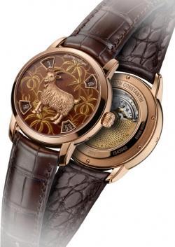 Chiêm ngưỡng đồng hồ hình con dê bằng vàng cực hiếm
