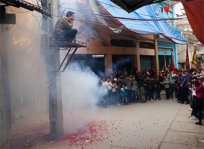 Từ năm 1994, Thủ tướng chính phủ đã ra chỉ thị cấm đốt pháo