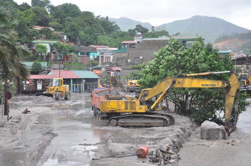 khắc phục sự cố ở mỏ Mông Dương
