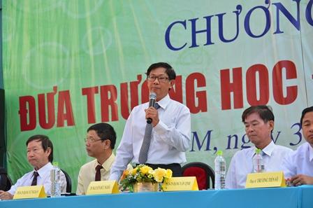 TS Nguyễn Đức Nghĩa, Phó Giám đốc ĐHQG TP HCM thông tin điểm mới của kỳ thi tốt nghiệp THPT quốc gia
