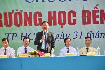 Thạc sĩ Tô Hoài Thắng, Trường ĐH Nguyễn Tất Thành