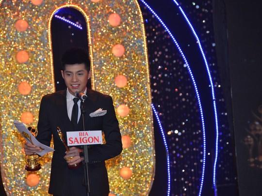 Noo Phước Thịnh phát biểu khi nhận Giải Mai Vàng 2014