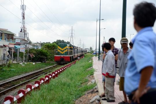 Đoạn đường ray - nơi xảy ra vụ việc