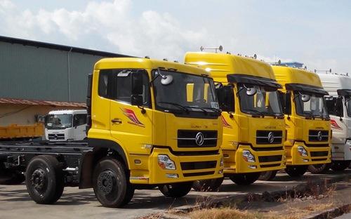 Lý do khiến ôtô tải nhập khẩu ở Trung Quốc tăng vọt là bởi Hiệp định Thương mại hàng hóa ASEAN - Trung Quốc giai đoạn 2015-2018, có hiệu lực ngày 1-1-2015 đã áp dụng thuế suất ưu đãi cho mặt hàng này. Ảnh: Vneconomy