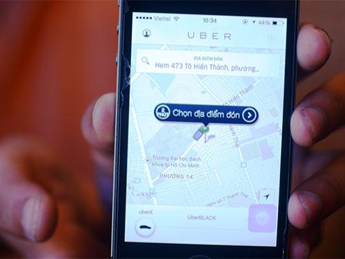 Uber tung ra gói dịch vụ taxi giá rẻ vào ngày 7-4