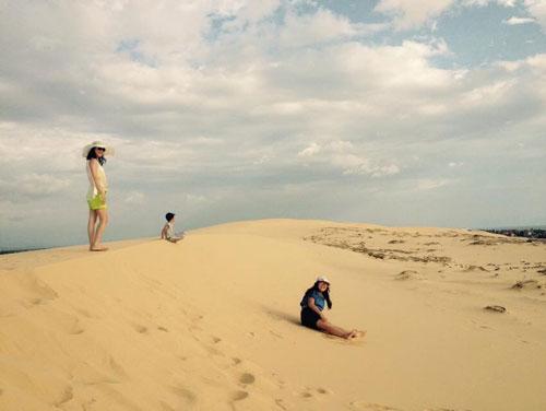 Bãi cát Bảo Ninh (TP Đồng Hới), một trong những địa điểm tỉnh Quảng Bình quy hoạch xây dựng tổ hợp sân golf. Ảnh: Hoàng Phúc
