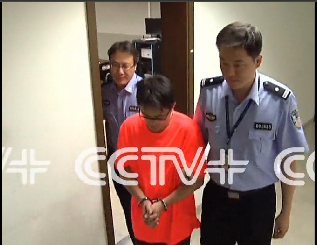 Ảnh minh họa : Zhen Bou, một nhà báo Trung Quốc bị bắt năm 2014, thú nhận rằng đã nhận nhiều tiền từ doanh nghiệp để viết bài báo ca ngợi họ. Nguồn: CCTV