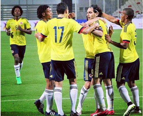 Falcao tỏa sáng trong đội hình Colombia đang đạt phong độ rất cao