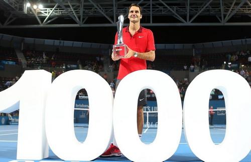 Ban tổ chức giải ATP Brisbane tôn vinh chiến tích của Roger Federer